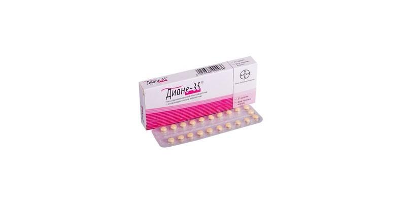 Таблетки Диане-35