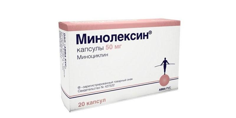 Таблетки Минолексин