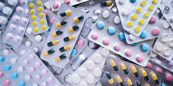 Лекарства в блистерах