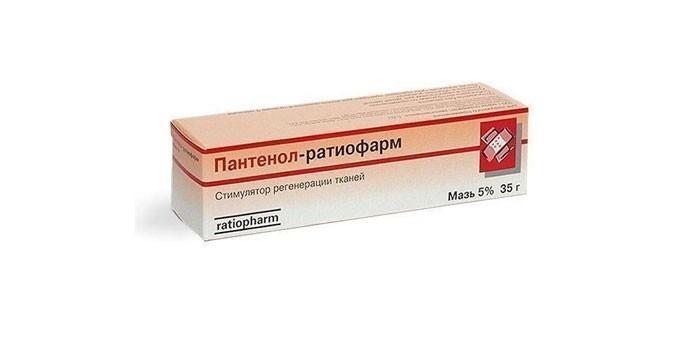 Препарат Пантенол Ратиофарм