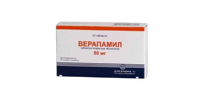 Таблетки Верапамил