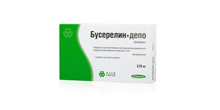 Препарат Бусерелин-Депо