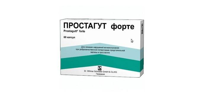 Таблетки Простагут форте