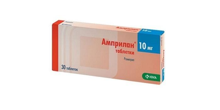 Таблетки Амприлан