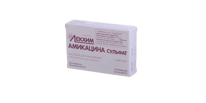 Препарат Амикацина сульфат