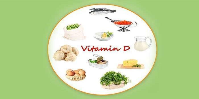 Содержащие витамин Д продукты
