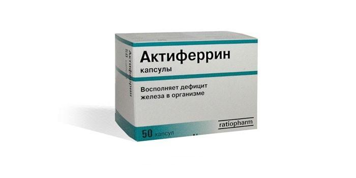 Таблетки Актиферрин