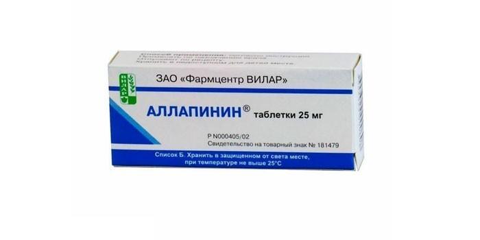 Таблетки Аллапинин