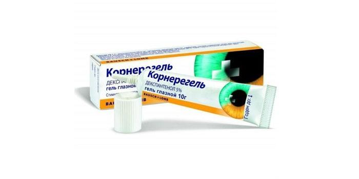 Препарат Корнерегель