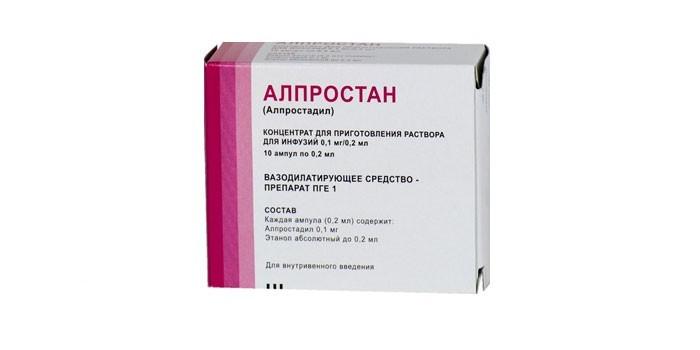 Препарат Алпростан