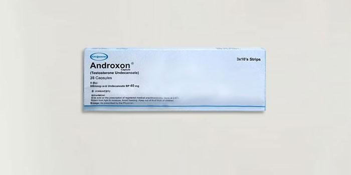Таблетки Андроксон