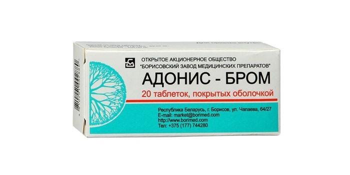 Таблетки Адонис Бром