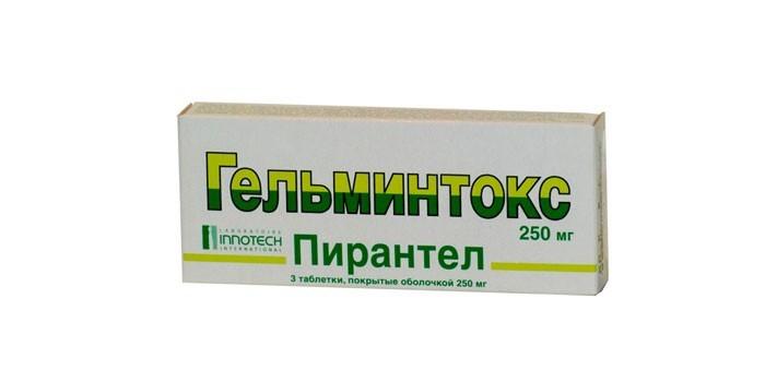 Таблетки Гельминтокс