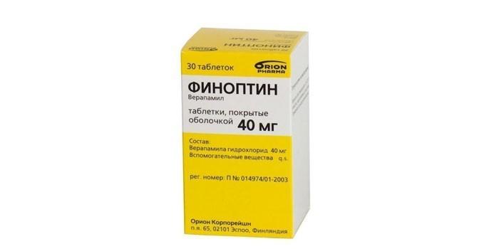 Препарат Финоптин