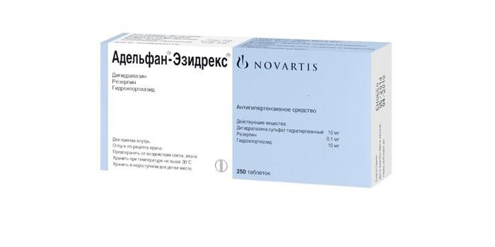 Таблетки Адельфан