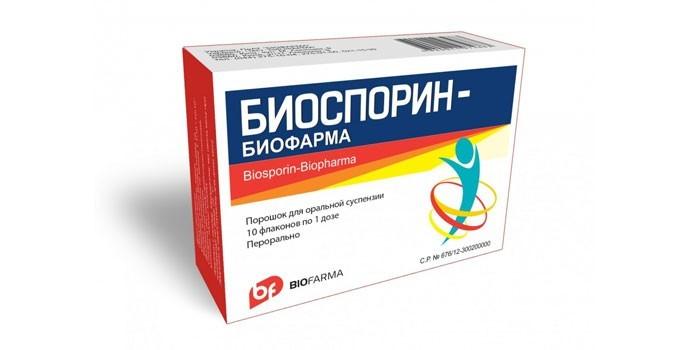 Препарат Биоспорин