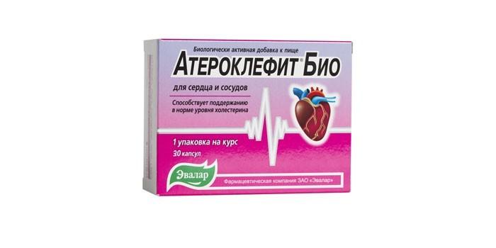 Таблетки Атероклефит Био