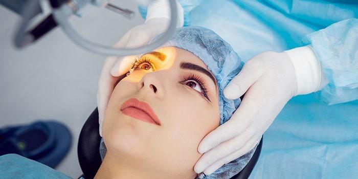 Хирургическое лечение сухого глаза