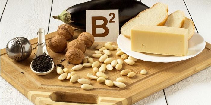 Содержащие витамин В продукты
