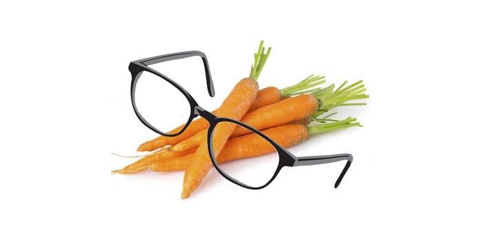 Морковь и очки