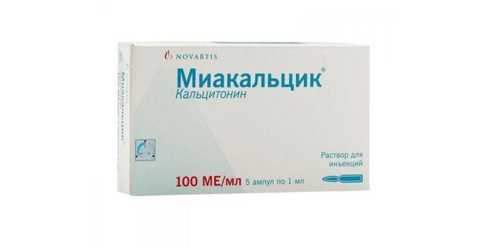 Раствор для инъекций Миакальцик