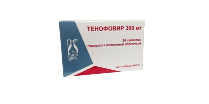 Таблетки Тенофовир