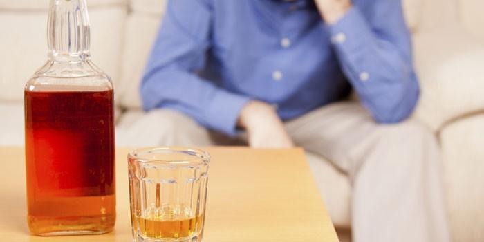 Мужчина и алкоголь