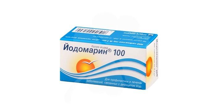 Таблетки Йодомарин 100