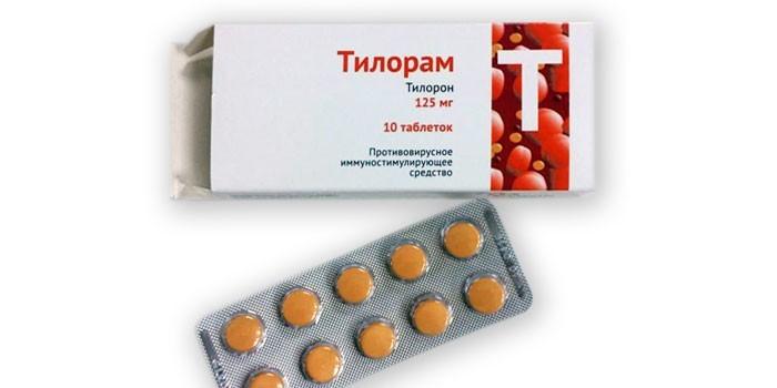 Таблетки Тилорам