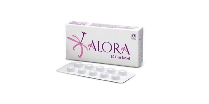 Таблетки Алора