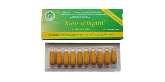 Свечи Эндометрин