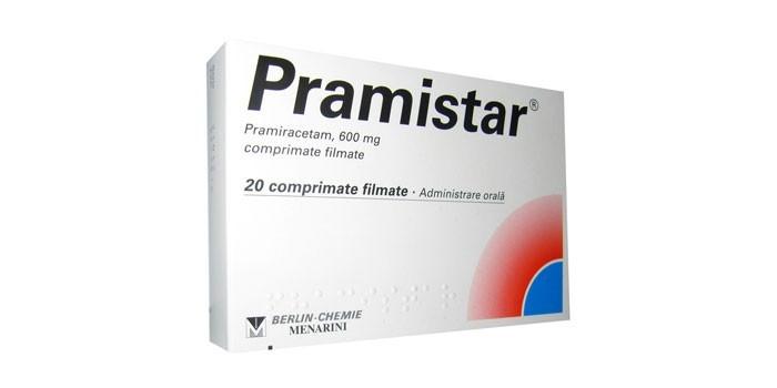 Таблетки Прамистар