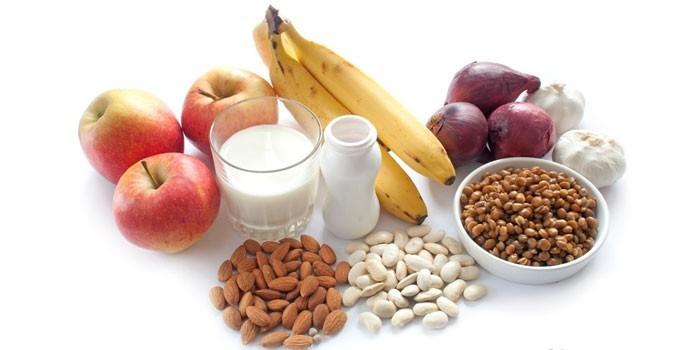 Содержащие пробиотики продукты питания