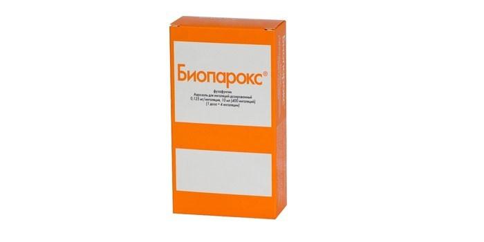 Аэрозоль Биопарокс