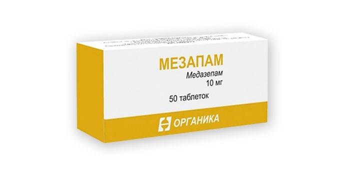 Таблетки Мезапам