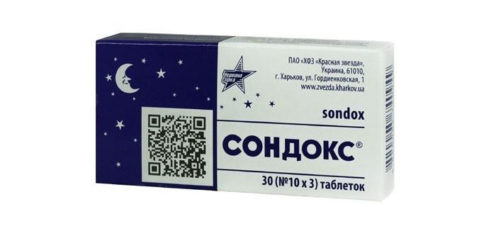 Таблетки Сондокс