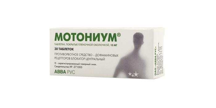 Препарат Мотониум