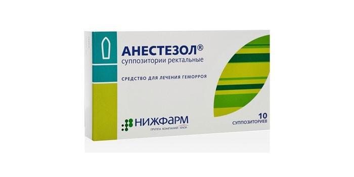 Суппозитории Анестезол