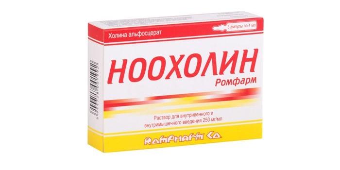 Препарат Ноохолин