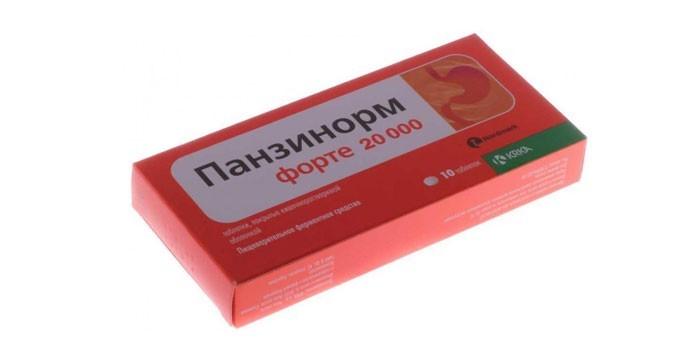 Препарат Панзинорм Форте
