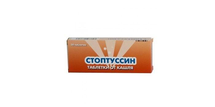 Таблетки от кашля Стоптуссин