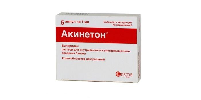 Препарат Акинетон