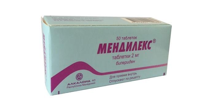 Таблетки Мендилекс