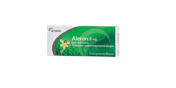 Таблетки Алерон
