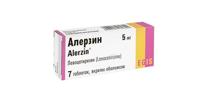 Таблетки Алерзин