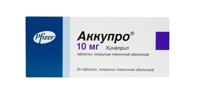 Таблетки Аккупро