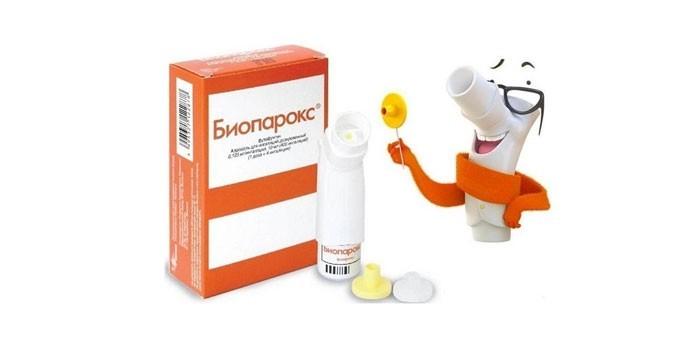 Лекарство Биопарокс