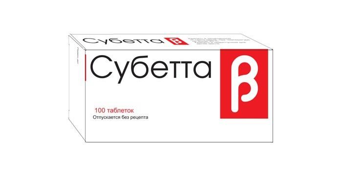 Препарат Субетта