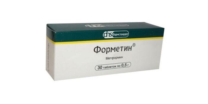 Таблетки Форметин