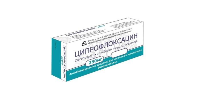 Препарат Ципрофлоксацин